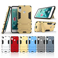 PC + TPU чехол Metal armor для HTC Desire 10 Pro (6 цветов)
