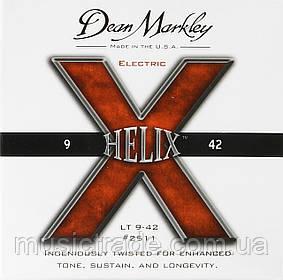 Струны Dean Markley 2512 Helix Custom Light 9-46