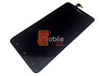 Модуль для Lenovo S60, S60-a, S60-t (Дисплей + тачскрин), черный оригинал PRC