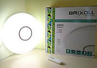 Светильник настенно-потолочный Brixoll SIYANIE smart с ПДУ BRX-40w-002 3000lm ip20 Ø460