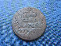 Монета полушка Россия 1735 N1