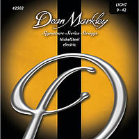 Струны Dean Markley 2502 LT NickelSteel Electric Guitar String 9/42