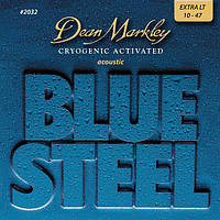 Струны Dean Markley 2032 BlueSteel Acoustic Strings XL 10/47