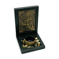 Декоративная композиция Будда 14,5х11,5х10 см