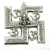 Ганеша с символом солнца 16х14,5х см Непал