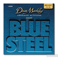 Струны  Dean Markley 2036 BlueSteel Acoustic Strings ML 12/54