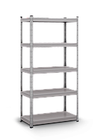 Металлический стеллаж УН-4А (1800*900*450 мм) Крашенный,серый