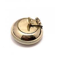 Пепельница карманная бронзовая d-4,h-2,5 см