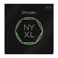 Струны для электрогитары D'ADDARIO NYXL / 0838