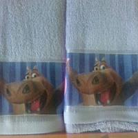 Набор махровых полотенец 35*70