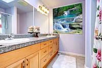 Панно Горный ручей кафель на стены, плитка 20х30см.