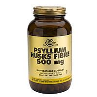 Биоактивная добавка Псиллиум клетчатка (Psyllium Hasks Fiber) 500 мл Solgar №200