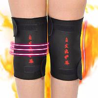 Турмалиновый пояс на колено, турмалиновые наколенники 2 шт