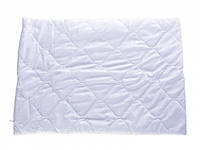 Ткань микрофибра  №1  (белая) для пошива подушек, одеял , наматрасников, простеганная на 80 синтепоне