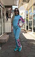 Женский прогулочный костюм Colors of California бирюзовый