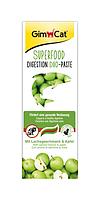 Паста Gimcat Superfood Digestion Duo Paste для кошек, улучшение пищеварения, лосось и яблоки, 50 г