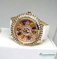 Женские часы с камнями Swarovski,№104