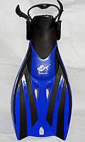 Ласты Dolvor Froggi F52 синие, размер L/ХL (44-47) купить ласты, подводные ласты купить, фото 1