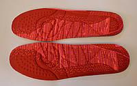 Стельки для кроссовок красные 36,37,38,39,40,41,42.43,44 р.