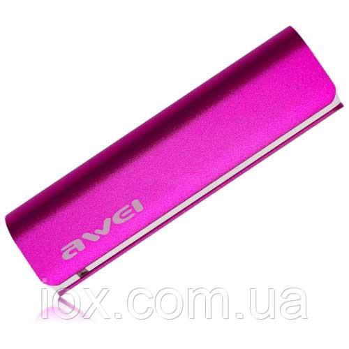 Power Bank AWEI P90K 2600mAh Pink