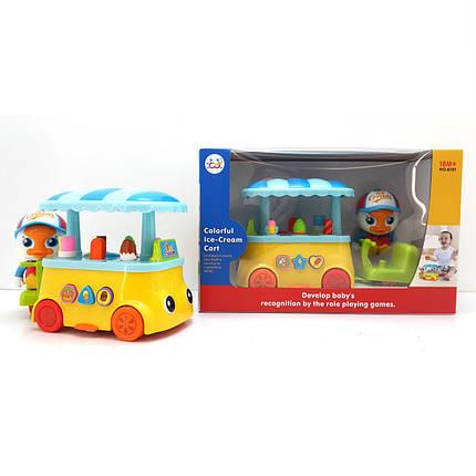 """Игрушка Huile Toys """"Тележка с мороженным"""" (6101), фото 2"""