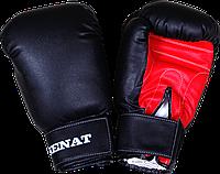 Перчатки боксерские 10 унций, черно-красные