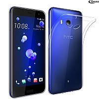 Ультратонкий 0,3 мм чехол для HTC U11 прозрачный, фото 1
