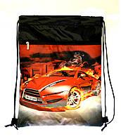 Рюкзак для сменки Гоночная машина, фото 1
