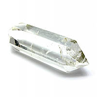 Двухголовый кристалл горного хрусталя +-7х1 см