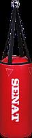 Мешок боксерский 50х22, ПВХ, красный, 4 подвеса