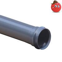 Труба ПВХ для наружного водопровода SDR 41 Ду 110x2000