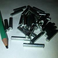 Штифт цилиндрический незакалённый 5х24 оцинкованный ГОСТ 3128-70 ТАНТАЛ сталь 45