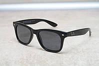 Солнцезащитные очки Ray Ban Wayfarer Polarized поляризованные 2140 черные 3N