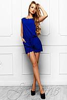 Летний женский комбинезон Амалия электрик Jadone Fashion 42-48 размеры