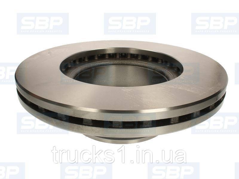 Диск гальмівний SAF 02-SA001 (SBP)