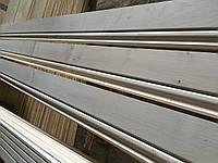 Деревянный плинтус широкий 12 см