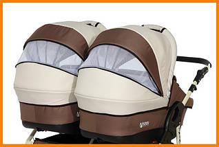 Детская коляска для двойни Verdi Twin, фото 2