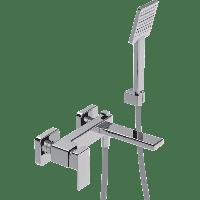Смеситель для ванны LaTorre Profili LaTorre 45019+душ+держатель+шланг Хром