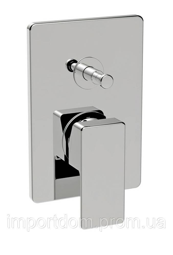 Смеситель для душа с дивертором La Torre Profili 45050R Хром