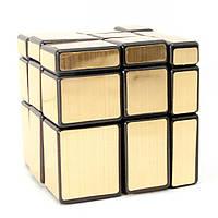 Головоломка Зеркальный Куб золото 6х6х6 см