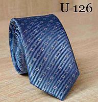 Узкий галстук жаккард U-126 (U-126)
