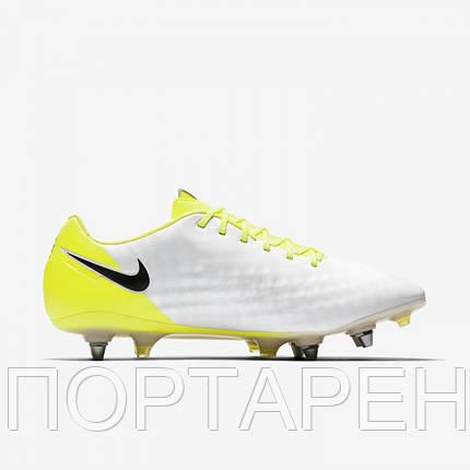 Профессиональные футбольные бутсы NIKE MAGISTA OPUS II SG-Pro 844597-107,  фото 2 6a7e690795f