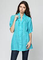 3377 Блуза летняя бирюзовая: imprezz.com.ua