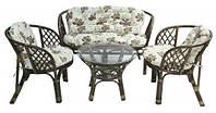 Комплект мебели из ротанга с подушками BAHAMA