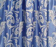 Шторная Ткань Блэкаут Катрин (голубой)