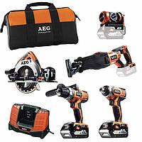 Набор аккумуляторного инструмента AEG JP185ALI402B (4935443466)
