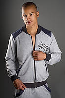 Мужской спортивный костюм Olis Style Митчел серый