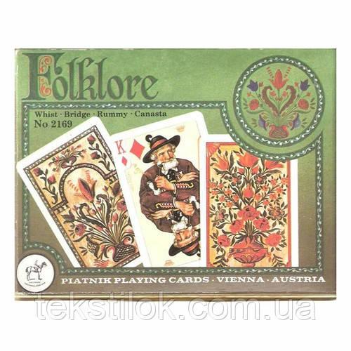 Карты игральные Piatnik Folklore 2 колоды по 55 шт
