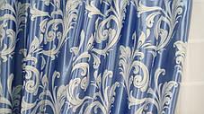 Готовые Шторы Блэкаут Катрин  (голубые), фото 3