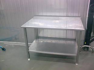 Столы производственные из нержавейки